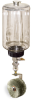 (Formerly B1745-7X-3SS), Manual Chain Lubricator, 1/2 gal Polycarbonate Reservoir, Roto Brush Stainless Steel -- B1745-064B1SW1W -- View Larger Image