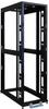 42U SmartRack 4-Post Mid-Depth Open Frame Rack - no sides or doors -- SR42UBMDEXPND - Image