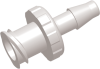 Female Barb to Luer Female Straight Connector -- AP15FTFL006CL - Image