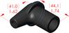 Angle Boot Insulator -- 16137 - Image