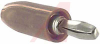 Connector; Banana Plug; 15 A; Brown; Brass; Nickel Silver; Nylon 6/6; 0.375 in. -- 70090640