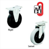 GENERAL DUTY PLATE CASTERS -- H2HR-2-ZN-R-PP