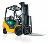 Pneumatic Internal Combustion Forklift, Komatsu -- AX50