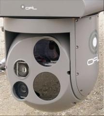 Aerospace camera with UV detection sensor