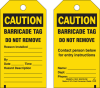 Brady Equipment Safety Tag - 132421 -- 754473-84505