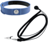 Adjustable Plastic Wrist Strap -- 4650 - Image