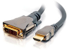 15m SonicWave® HDMI® to DVI-D? Digital Video Cable (49.2ft) -- 2103-40310-049