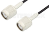 TNC Male to TNC Male Cable 72 Inch Length Using RG174 Coax -- PE3425-72 -Image