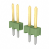 Rectangular Connectors - Headers, Male Pins -- 1-826629-3-ND