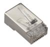 CAT6 Shielded Modular Plug, 10-Pack -- FMTP6S-10PAK