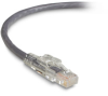 TAA GigaTrue 3 CAT6 550-MHz Patch Cable (UTP), Lockable, Slimline, Gray, 3-ft. (0.9-m) -- C6PC80-GY-03