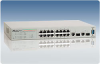 FS750 Fast Ethernet WebSmart Switches -- AT-FS750/16