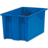 16in x 10in x 8 7/8in Blue - Stack & Nest Containers -- BINS110 - Image