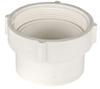 White PVC Female Pipe Thread Spigot Cleanout Adaptor -- 31084