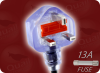 BS 1363 UK13 CLEAR to IEC-60320-C19 RIGHT ANGLE CLEAR HOME • Power Cords • International Power Cords • UK Power Cords -- 9664.360 -- View Larger Image