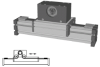 External Belt Driven Linear Actuator -- ELSZ 40 - Image