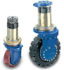 Electric Wheel Drives -- Transmission with vertical motor