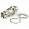 Bulkhead TNC Female (Jack) to TNC Female (Jack) Adapter, Nickel Plated Brass Body, 1.35 VSWR -- SM8715 - Image