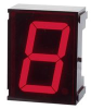 VISHAY SEMICONDUCTOR - TDSR1050 - DISPLAY, SEVEN SEGMENT, 10MM, RED -- 301550