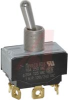 Switch, BAT LEVER, DPDT, ON-OFF-ON, SCREW Terminal -- 70155765 - Image