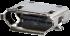Horizontal USB B Modular Jack