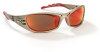 Fuel Eyewear > FRAME - Metallic sand > LENS - Red mirror > UOM - Each -- 11640-00000