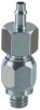 "#10-32 to 1/8"" ID Hose Swivel -- ST3 -Image"