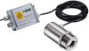 Infrared Thermometer for Temperature Measurement of CO Flame Gas -- optris® CTlaser F6 - Image