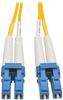Duplex Singlemode 8.3/125 Fiber Patch Cable (LC/LC), 25 m (82 ft.) -- N370-25M - Image