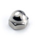#6-32 Acorn Nut, Nickle, Closed End -- NG2ACR00632N - Image