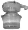 Vaporproof Fluorescent Fixture with Refractor -- MLRF264J5NBU