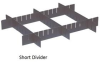 Dividers For Conductive Dividable Grid Container -- HDL93060CO -Image