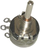 HONEYWELL S&C / CLAROSTAT - 381N250 - POT, COND PLASTIC, 250OHM, 10%, 1W -- 669306