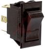 Switch, COMBI-Terminal, Rocker, DPDT, ON-OFF-ON -- 70132029 - Image
