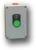 Die-Cast Aluminum One Button Enclosure -- MC-1B-NO-F