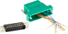 Green Modular Adapter Kit DB25 Male to RJ45 Female -- FA4525M-GR -- View Larger Image