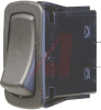 Switch, Rocker, L SERIES, NON-Lighted, SPST, ON-NONE-OFF, 22.1MM X 44.1MM MOUNTI -- 70131611 - Image