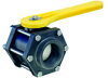 Polypropylene Ball Valves -- 6-Bolt Valve Design