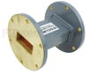 WR-137 Waveguide Section 3 Inch Length Straight Using UG-344/U Flange With a 5.85 GHz to 8.2 GHz Frequency Range in Commercial Grade -- SMF137S-03 - Image