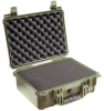 Pelican 1450 Case with Foam - Olive Drab   SPECIAL PRICE IN CART -- PEL-1450-000-130 -Image