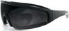 Bobster Prowler Military Ballistic Eyewear with Black Frame -- BW8001