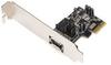 Startech.com 1 Port PCI Express eSATA II Controller Card -- PEXESATA1