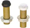 RF Resistant Omni Condenser Mini-Boundary Microphones White -- 202RW