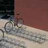 Bike Rack, Portable,12 Spaces,10 ft. -- 4102