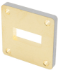 WR-90 Waveguide Shim with 5mm Copper UG-Cover Square Flange -- FMW90FS5