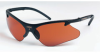 Smith & Wesson Code 4 Standard Safety Glasses Copper Lens - Black Frame - Wrap Around Frame - 079768-00937 -- 079768-00937
