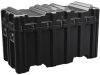 Pelican AL5424-2306 Single Lid Trunk Shipping Case - No Foam with Casters - Black -- PEL-AL5424-2306RPC032 -Image