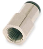 Female Connector,Pipe Size 1/8 In,PK 10 -- 1DDZ7