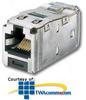 Panduit® Mini-Com TX6 10Gig Shielded Jack Module -- CJS6X88TG