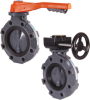 Manual Butterfly Valves -- BYV Series -- View Larger Image